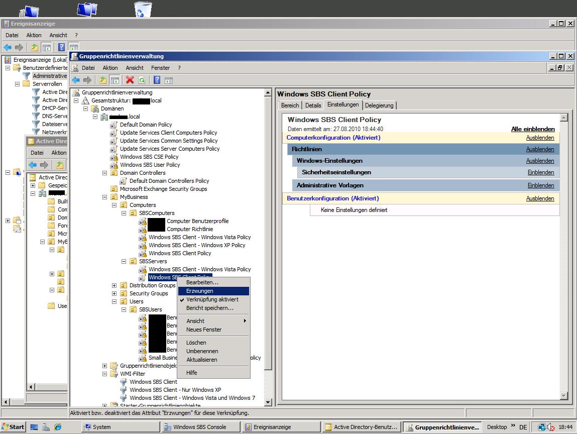 Ungewöhnlich Windows 7 Administrative Vorlagen Zeitgenössisch ...