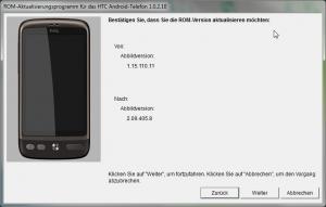 HTC Desire - Froyo Update/Debranding